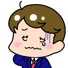 悲しむ金田くんの画像
