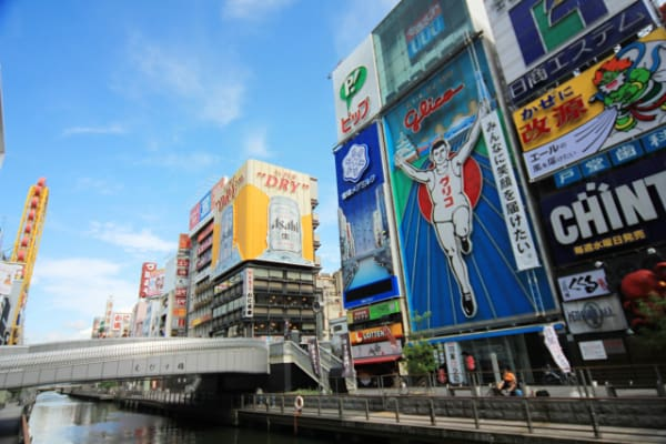 大阪道頓堀のイメージ